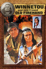 """Plakat von """"Winnetou und sein Freund Old Firehand"""""""