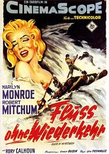 """Plakat von """"Fluß ohne Wiederkehr"""""""