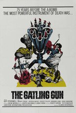 "Plakat von ""The Gatling Gun"""