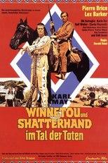 """Plakat von """"Winnetou und Shatterhand im Tal der Toten"""""""
