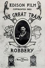 """Plakat von """"Der große Eisenbahnraub"""""""