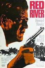 """Plakat von """"Red River"""""""