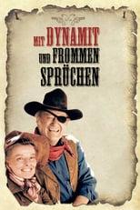 """Plakat von """"Mit Dynamit und frommen Sprüchen"""""""