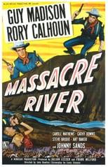 "Plakat von ""Massacre River"""