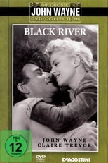 """Plakat von """"Der Mann vom schwarzen Fluß"""""""
