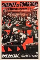 """Plakat von """"Der Sheriff von Tombstone"""""""