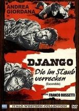 """Plakat von """"Django Die im Staub verrecken"""""""