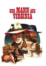 """Plakat von """"Der Mann aus Virginia"""""""